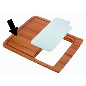 TAGLIERE PER LAVELLO MONOVASCA HR0860 tagliere unico in legno iroko-0