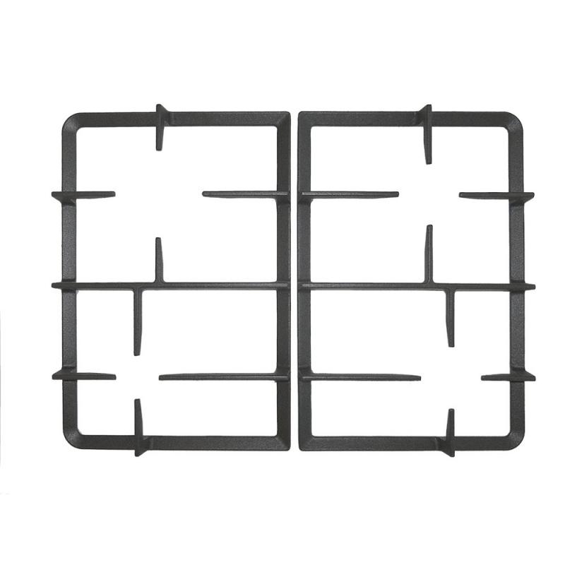 KIT COPRISPARTIFIAMMA + GRIGLIE IN GHISA per piano cottura STAR75-0