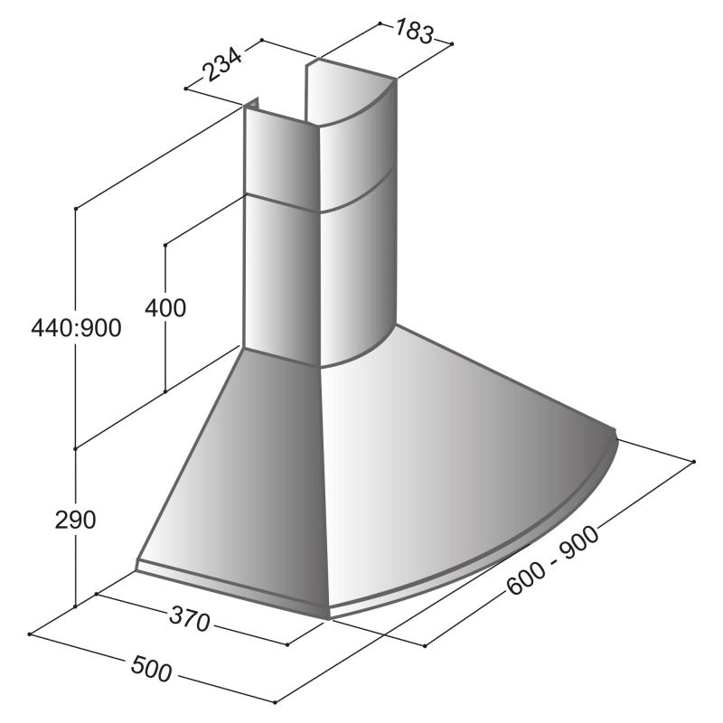 Cappa PT60-PT90-0
